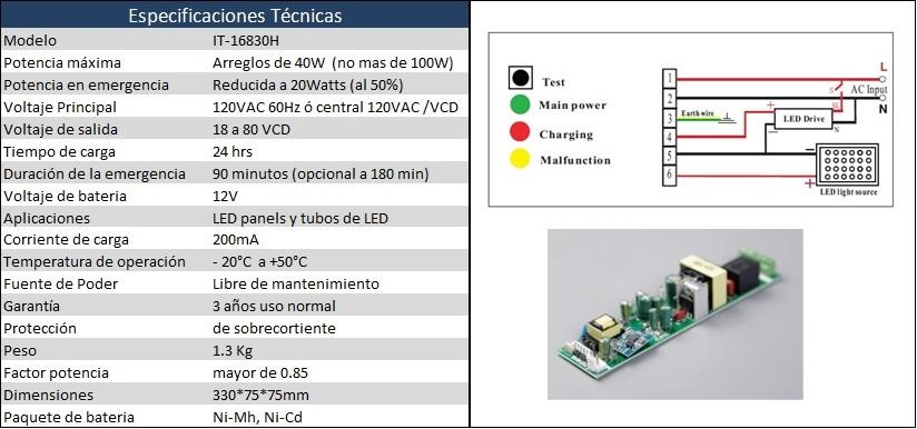 5-3 inversor de emergencia para led panels